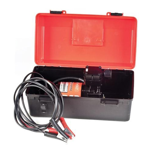 Red Portable Air Compressor