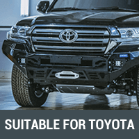 Rock Sliders & Side Steps Suitable for Toyota