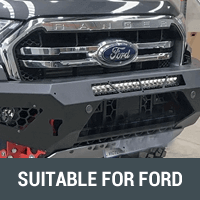 Rock Sliders & Side Steps Suitable for Ford