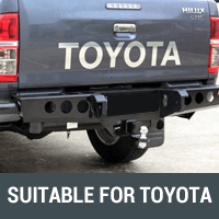 Rear Bars & Tyre Carriers Suitable for Toyota