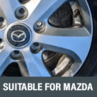 Brackets & Spacers Suitable For Mazda