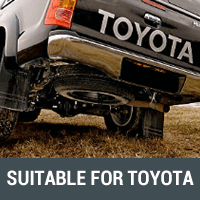 Body Lifts & Diff Drops Suitable for Toyota