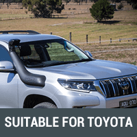 Snorkels & Air Intakes Suitable for Toyota