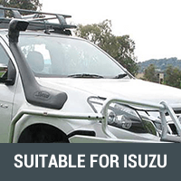 Snorkels & Air Intakes Suitable For Isuzu