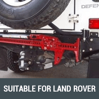 Rear Bars & Tyre Carriers Suitable for Land Rover
