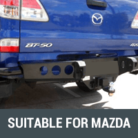 Rear Bars & Tyre Carriers Suitable for Mazda