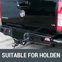 Rear Bars & Tyre Carriers Suitable for Holden