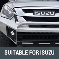 Rock Sliders & Side Steps Suitable for Isuzu