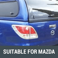 Ute Canopies Suitable For Mazda