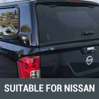 Ute Canopies Suitable For Nissan