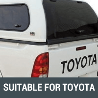 Ute Canopies Suitable for Toyota