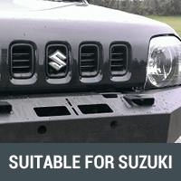 Rock Sliders & Side Steps Suitable for Suzuki