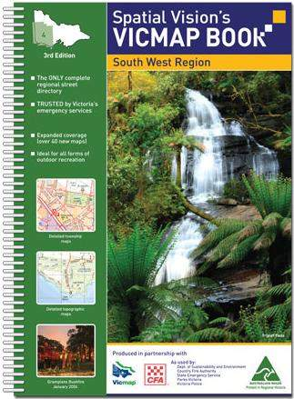 Spatial Vision's VICMAP Book - South West Region