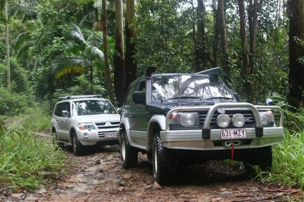 Driving A 4wd Vehicle