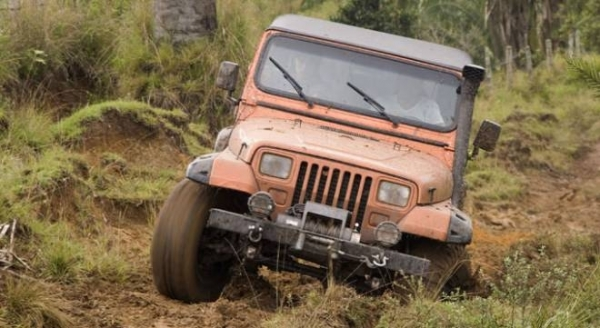 Common Mistakes Offroad: Not Knowing Where You're Steering