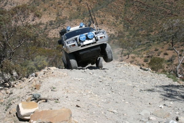 Common Mistakes Offroad: Attempting A Hill Sideways