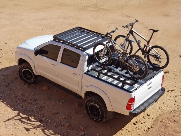 How to carry your pushbike on a roof rack